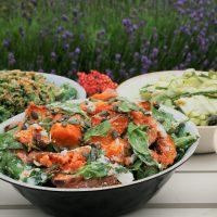 Fresh and light summer salads