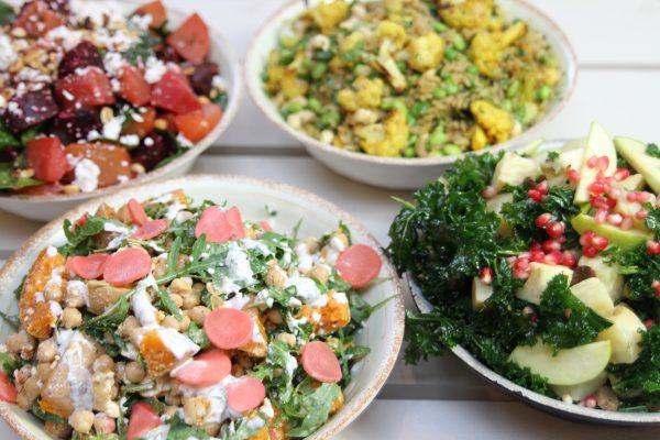 Four Seasonal Winter Salads