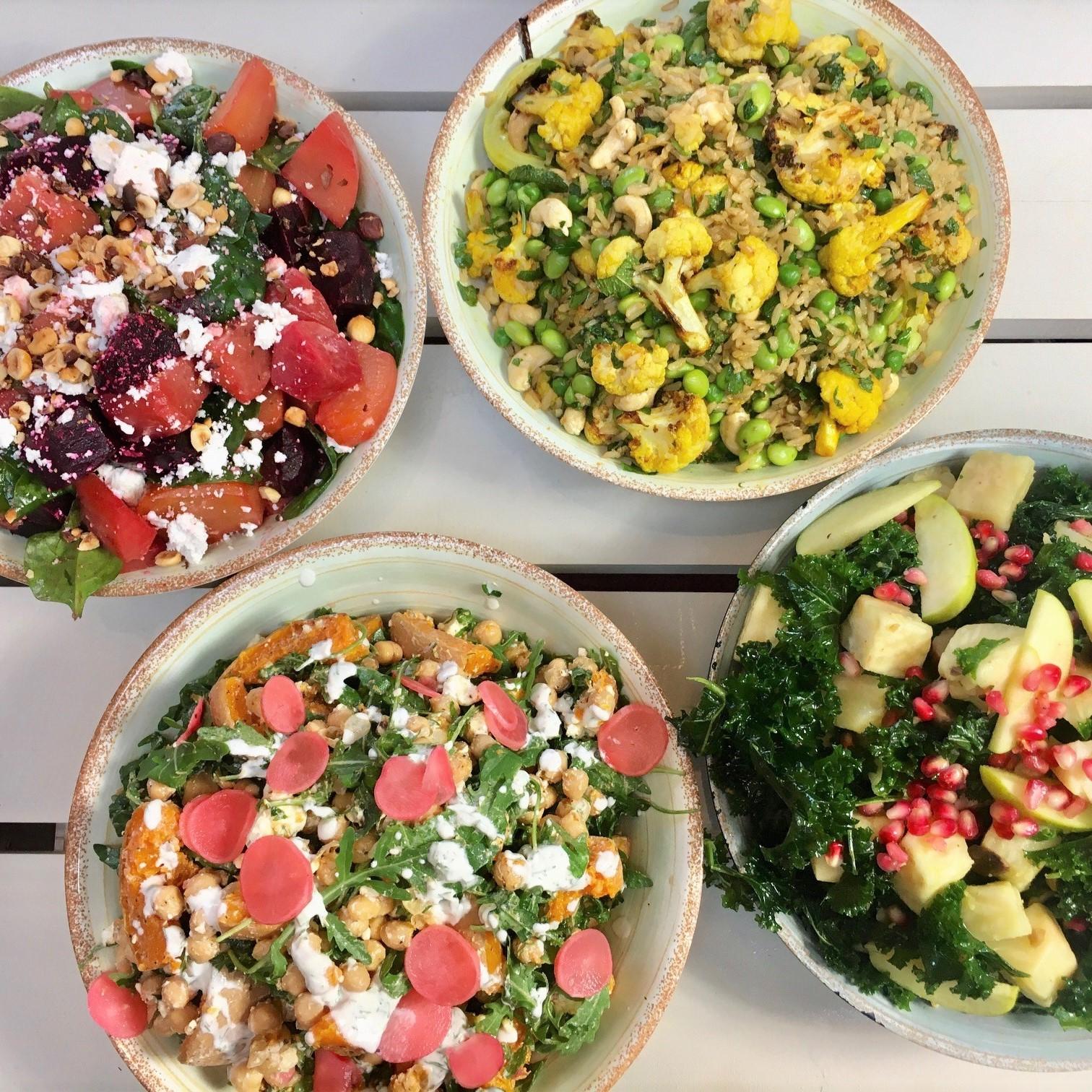 Nourishing winter salads